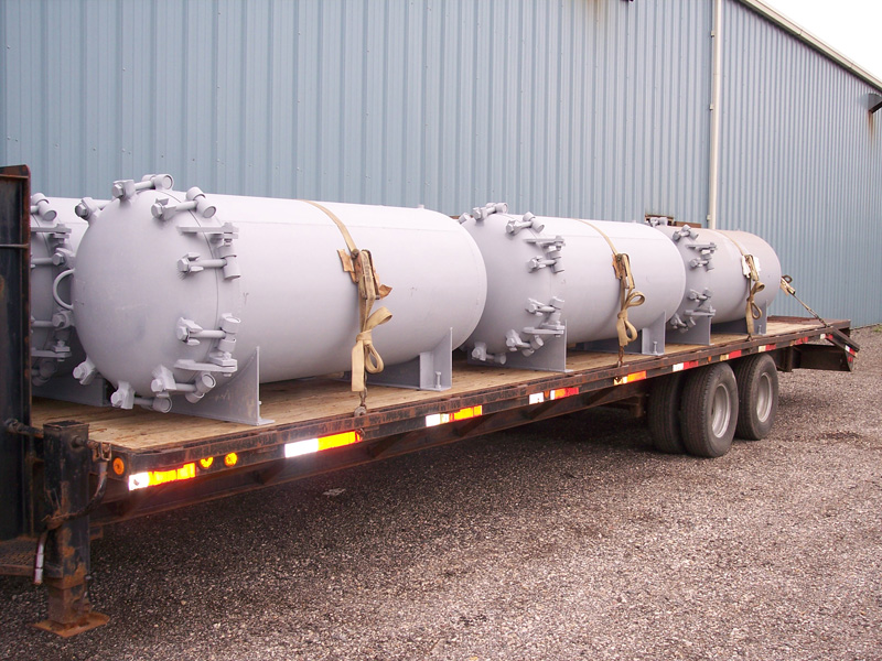 ASME Carbon Steel Quick Open Closure Tank