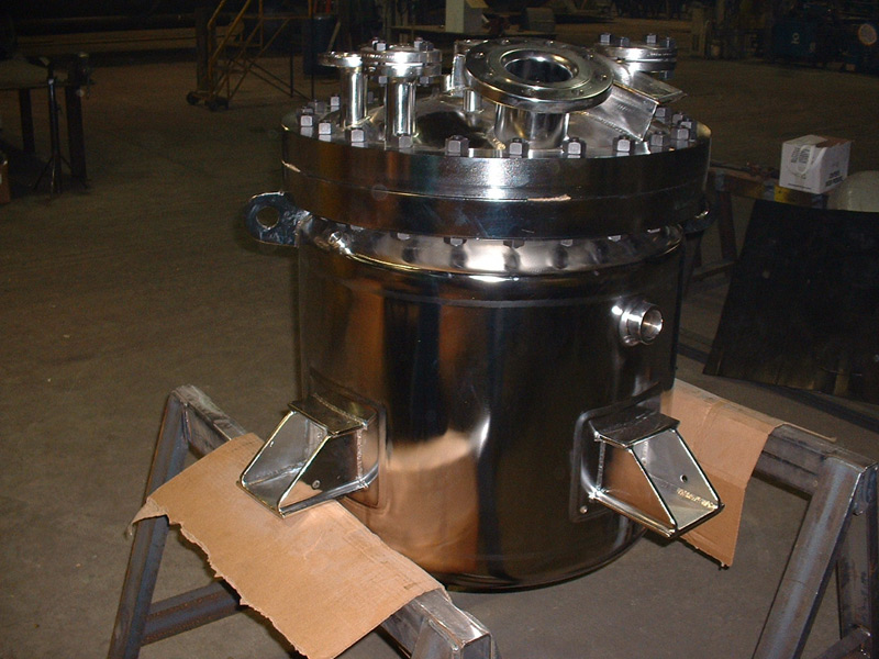 Polished Pressure Tank Reactor