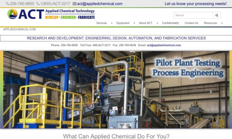 Applied Chemical Technology, Inc.