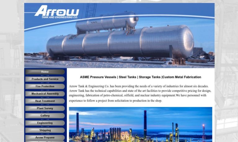 Arrow Tank & Engineering Company, Inc.
