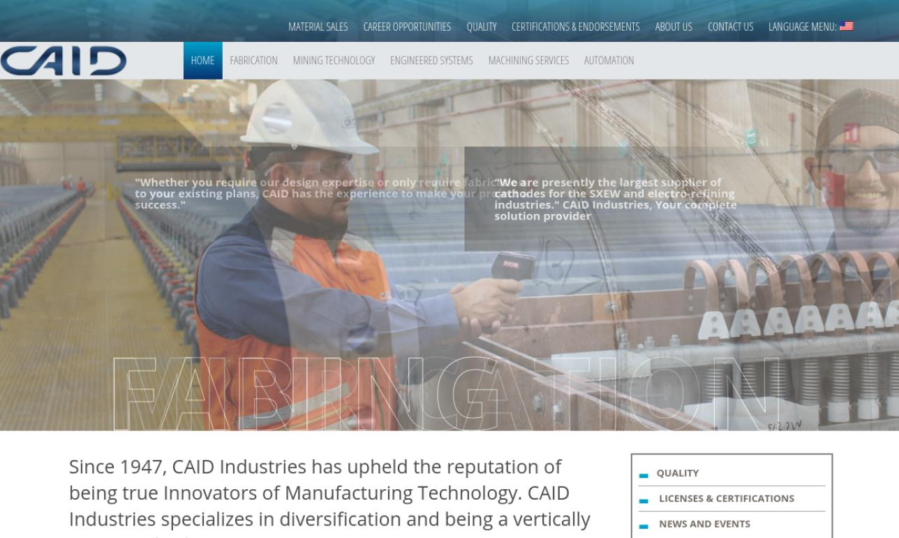 Caid Industries, Inc.