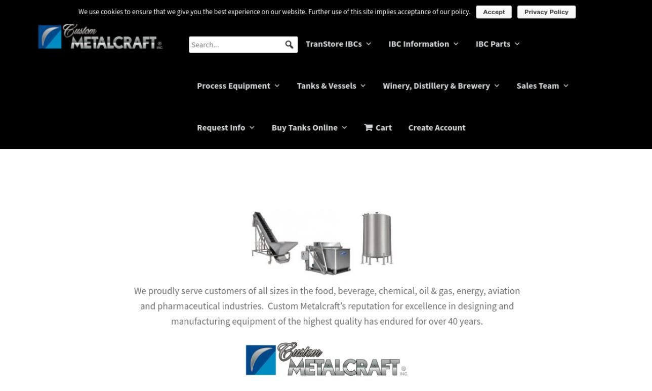 Custom Metalcraft, Inc.