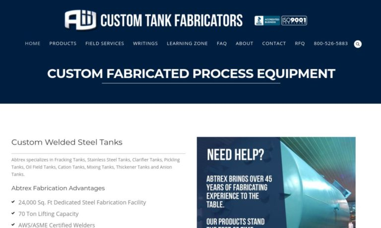 Custom Tank Fabricators