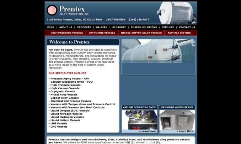 Prentex Alloy Fabricators, Inc.
