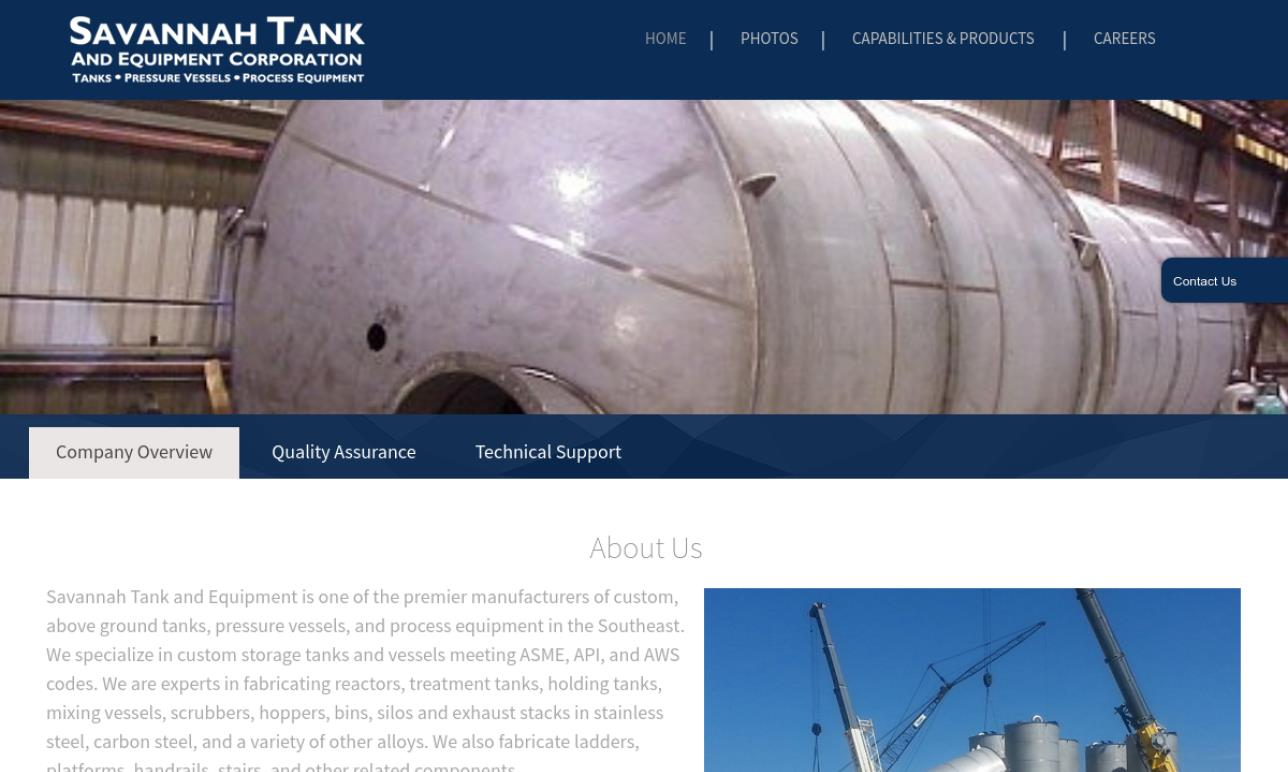 Savannah Tank & Mfg., Inc.