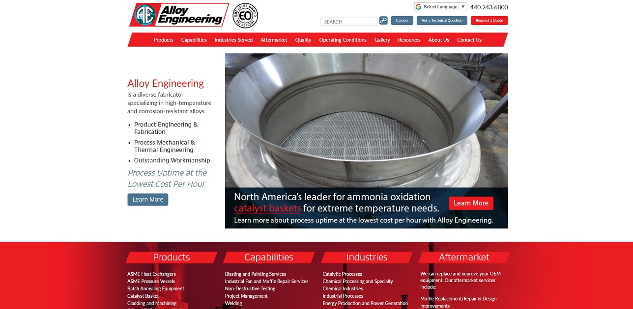 Alloy Engineering Company