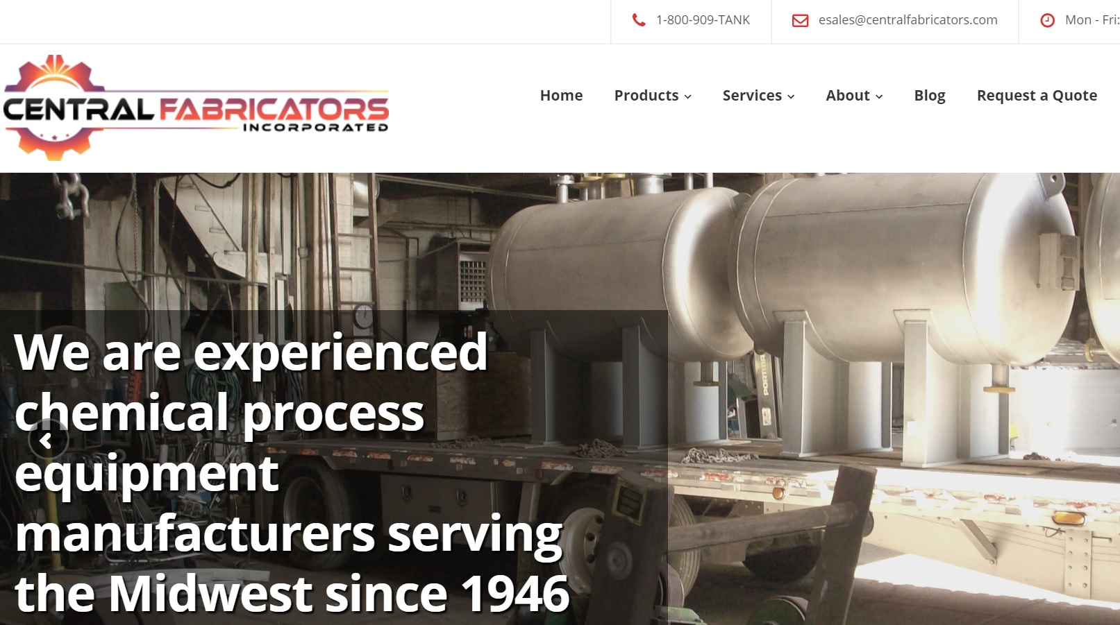 Central Fabricators, Inc.