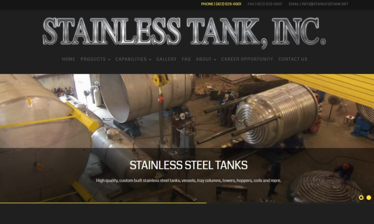Stainless Tank, Inc.
